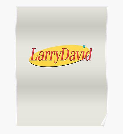 Larry David - Seinfeld Poster