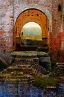 Lithgow NSW - Remains of the Ferranti Blast Furnace No 1 by Rosalie Dale