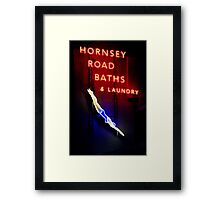 Hornsey Road Baths & Laundry  Framed Print