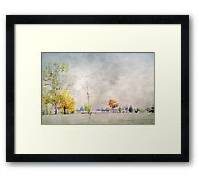 A Touch of Colour in Twizel Framed Print