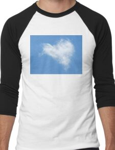 ♥ hearty cloud ♥ Men's Baseball ¾ T-Shirt
