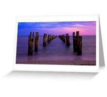 Down the Middle  *Clifton Springs* Greeting Card