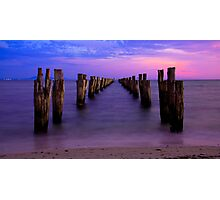 Down the Middle  *Clifton Springs* Photographic Print