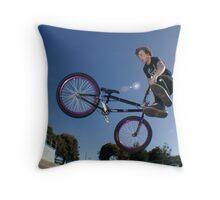 360 whip Throw Pillow