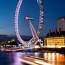 London Eye 2 by david marshall