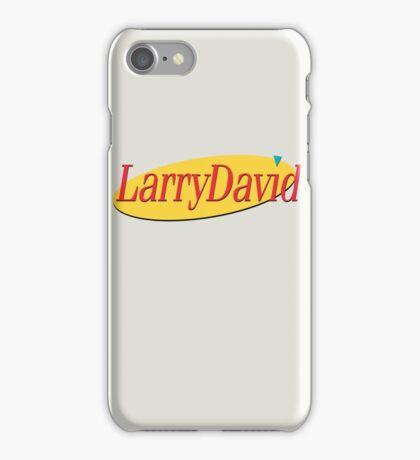 Larry David - Seinfeld iPhone Case/Skin