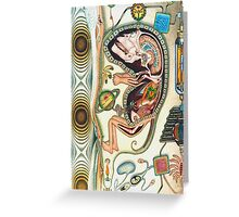 embryo - m. a. weisse Greeting Card