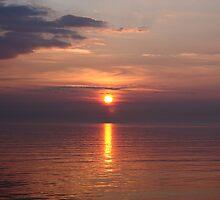 Sunrise over the Irish Sea by Nick Barker