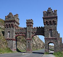 The old toll gate, Marine Drive, Douglas , Isle Of Man by Nick Barker