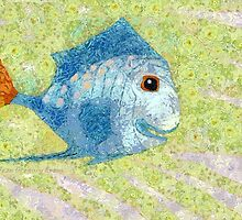 MY IMAGINARY FISHES by Jean Gregory  Evans
