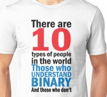 There are 10 types of people  Unisex T-Shirt