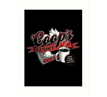 Coop's Diner Art Print