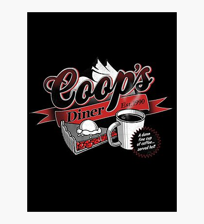 Coop's Diner Photographic Print