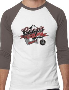 Coop's Diner Men's Baseball ¾ T-Shirt
