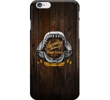 Amity Island Boat Hire iPhone Case/Skin