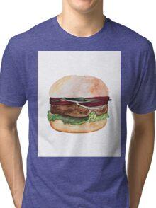 Tasty and fresh burger Tri-blend T-Shirt