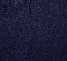 Leather Texture, Leather Background - Blue by sitnica