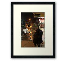 Shot YA!! Framed Print