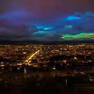 Late Dusk View Of Cuenca From Turi by Al Bourassa
