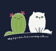 Why d' you have to be so prickly with me? Kids Clothes