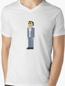 GTA V - 8-Bit Michael Character Design Mens V-Neck T-Shirt
