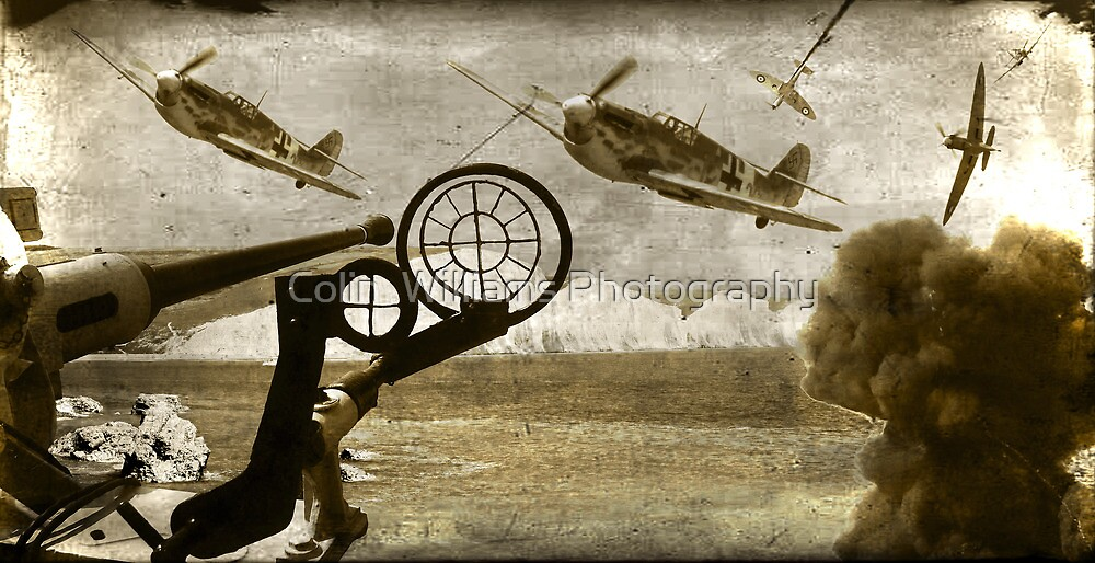 Battle Over The Channel - September 15th 1940 by Colin  Williams Photography