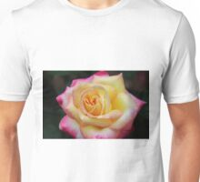 One Colorful Rose Unisex T-Shirt