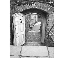 Dartmouth Castle - The door to... Photographic Print