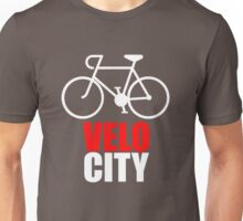 VeloCity Version 2 Red White Unisex T-Shirt