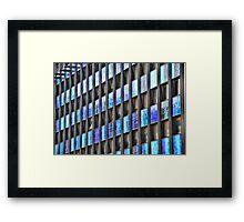 Office windows. Framed Print