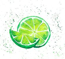Fruit lime by Wedphoto
