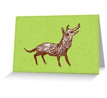 Mongrel Greeting Card
