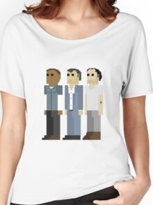 GTA V - 8-Bit Protagonists Trio Character Design Women's Relaxed Fit T-Shirt