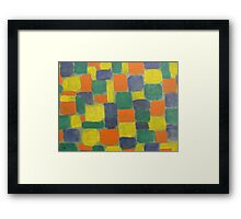 ABSTRACT 744 Framed Print