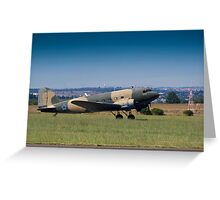 McDonnel Douglas DC-3 C-47A Greeting Card