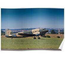 McDonnel Douglas DC-3 C-47A Poster