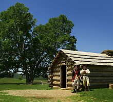 Valley Forge Encampment by Mark Van Scyoc