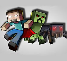 Minecraft - Enemies of the Night by The5thHorseman