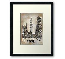 New York 1910 Framed Print