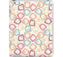 Abstract retro grunge pattern iPad Case/Skin