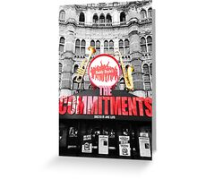 the commitments colour pop Greeting Card