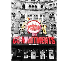 the commitments colour pop Photographic Print