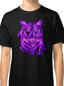 Purple tiger T SHIRT/STICKER Classic T-Shirt