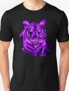 Purple tiger T SHIRT/STICKER Unisex T-Shirt