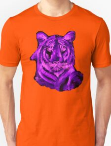 Purple tiger T SHIRT/STICKER Unisex T-Shirt