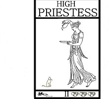 High Priestess by Peter Simpson