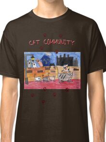 Cat community Classic T-Shirt