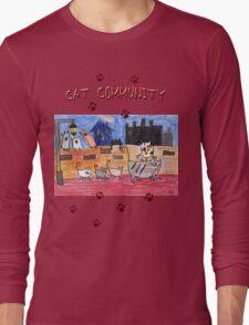 Cat community Long Sleeve T-Shirt