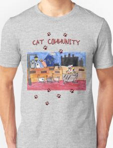 Cat community T-Shirt