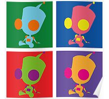 Andy Warhol style - Gir Poster